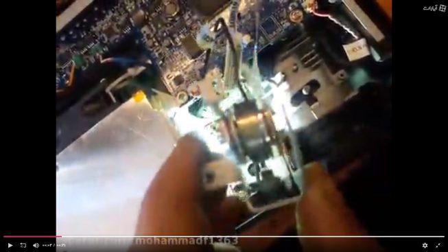 عمل کرد چرخه رنگ در پروژکتور دیتا
