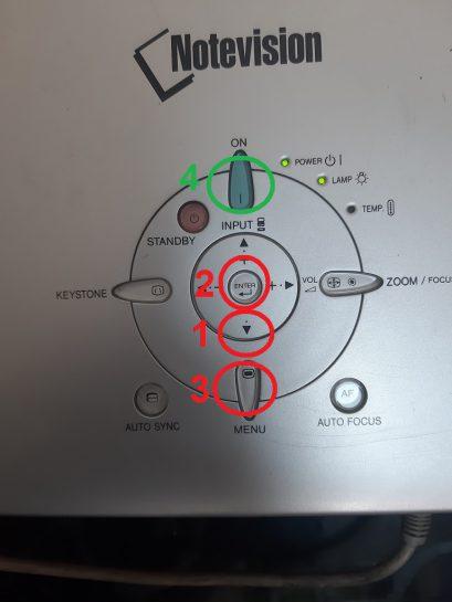 ریست ساعت لامپ شارپ xg-mb70x
