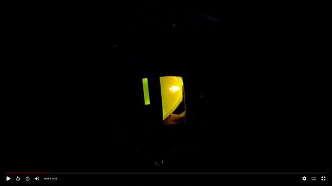 نحوه روشن شدن لامپ ویدئو پروژکتور