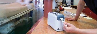 مزایای استفاده از پرینتر مچ بند بیمار Zebra HC100