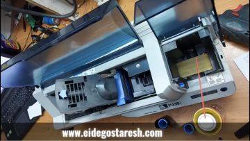سرویس پرینتر کارت پی وی سی (PVC) زبرا P430